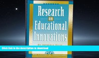 EBOOK ONLINE Research on Educational Innovations (Library of Innovations Series) READ NOW PDF ONLINE