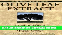 New Book Olive Leaf Extract