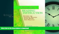 FAVORIT BOOK Evidence-Based Reading Instruction: Putting the National Reading Panel Report into
