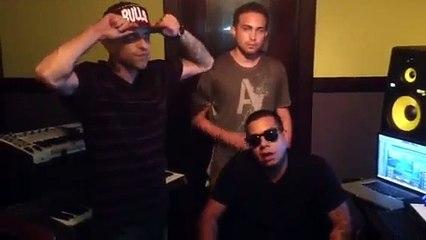Estrada - Los G4 ft. Onyx y Sinfonico  (Preview) (Los Reyes Del Rap) [Behind the Scenes]