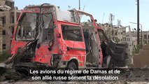Syrie: bombardements intenses sur les quartiers rebelles d'Alep