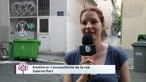 Budget participatif - Accessibilité rue Gabriel Péri