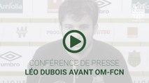 Léo Dubois avant OM-FCN
