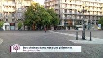 Budget participatif - Des chaises dans les rues piétonnes