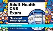 Big Deals  Adult Health CNS Exam Flashcard Study System: CNS Test Practice Questions   Review for