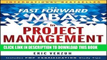 [PDF] The Fast Forward MBA in Project Management (Fast Forward MBA Series) Popular Online