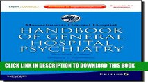 [PDF] Massachusetts General Hospital Handbook of General Hospital Psychiatry: Expert Consult -