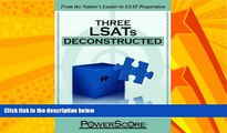 Big Deals  The PowerScore LSAT Deconstructed Series: Three LSATs Deconstructed  Best Seller Books
