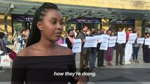 Eritreans hold 'silent protest' in London over fate of detainees
