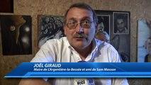 Hautes-Alpes : Hommage à Sam Masson : Un univers à la Brassens selon Joël Giraud