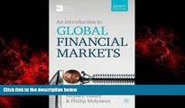 FREE PDF  An Introduction to Global Financial Markets  FREE BOOOK ONLINE