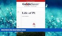 Popular Book GradeSaver (TM) ClassicNotes Life of Pi: Study Guide