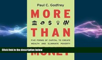 READ book  More than Money: Five Forms of Capital to Create Wealth and Eliminate Poverty  FREE