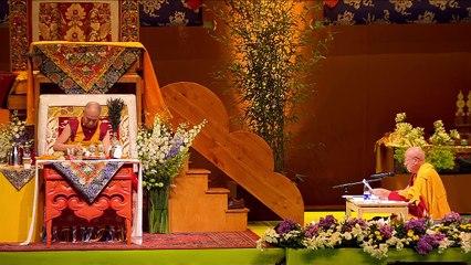 Dalai Lama France 2016 - preliminare all'iniziazione de Chenrezi