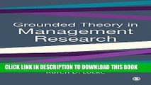 [PDF] Grounded Theory in Management Research (SAGE series in Management Research) Popular