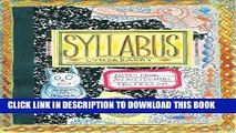[Read PDF] Syllabus: Notes from an Accidental Professor Download Online