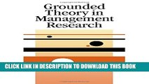 [PDF] Grounded Theory in Management Research Full Collection