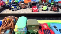 Pixar Cars Off Road Racers with Cars from Disney Pixar Cars and Cars2 Lightning McQueen Mater and Mo