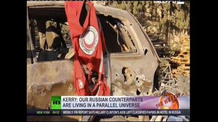 Manoeuvres falsificatrices des USA & Co pour contret la Russie en Syrie