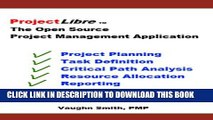 PDF ProjectLibre The Open Source Project Management