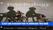 [PDF] Loose-leaf Version for Introducing Psychology 3e   LaunchPad for Schacter s Introducing