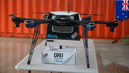Domino's livrera ses pizzas avec des drones en Nouvelle-Zélande!