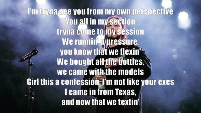 Post Malone ft. Justin Bieber - Deja Vu (Official Lyrics)