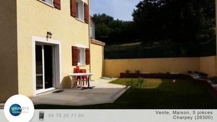A vendre - Maison/villa - Charpey (26300) - 5 pièces - 91m²