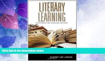 Big Deals  Literary Learning: Teaching the English Major (Scholarship of Teaching and Learning)