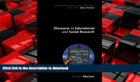 FAVORIT BOOK Discourse in educational and Social Research (Conducting Educational Research) READ