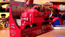 MegaBloks Mack & Lightning McQueen 7769 Disney Pixar Cars Lego Blocks 8486 Macks Team Truck