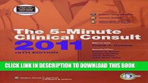 [PDF] The 5-Minute Clinical Consult 2011 (Print, Website, and Mobile) (The 5-Minute Consult