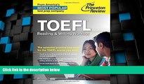 Big Deals  TOEFL Reading   Writing Workout (College Test Preparation)  Best Seller Books Best Seller