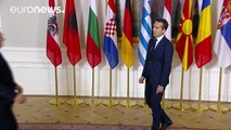 Avrupa ve Balkan ülkeleri liderleri Balkan Rotası Boyunca Göç Zirvesinde buluştu