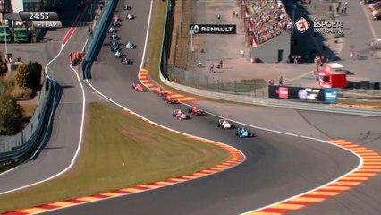 Fórmula Renault 2.0 - Etapa de Spa-Francorchamps (Corrida 1): Largada