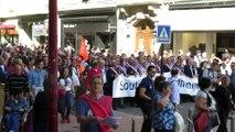 Belfort Manif soutien Alstom Elus en tête