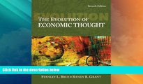 READ book  The Evolution of Economic Thought (with InfoTrac 1-Semester, Economic Applications