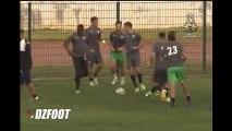 MOB : Dernier entrainement à Rabat