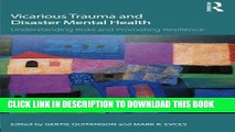 [PDF] Vicarious Trauma and Disaster Mental Health: Understanding Risks and Promoting Resilience