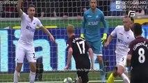 Sergio Aguero Second Goal - Swansea City vs Manchester City 1-2 - 24-9-2016 [Premier League]