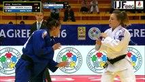 Judo Grand-Prix Zagreb 2016-Cheyenne Mounier