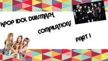 KPOP IDOL DUBSMASH COMPILATIONS #1 (BTS, GIRLS' GENERATION-TTS)
