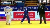 Judo Grand-Prix Zagreb 2016- Benarroche Lola (FRA)