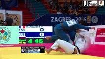 Judo Grand-Prix Zagreb 2016- MANQUEST Vincent pour l'or