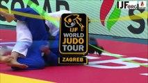Judo Grand-Prix Zagreb 2016-BENARROCHE Lola en Finale