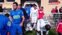 Football. Coupe de France. Au cœur de Saint-Renan - US Montagnarde : 1-5