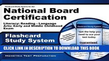 [PDF] Flashcard Study System For the National Board Certification Literacy: Reading - Language