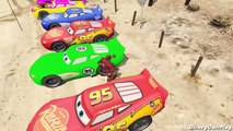 Lightning McQueen Cars iron man Cars 2 Nursery Rhymes McQueen (Songs for Children with Action)