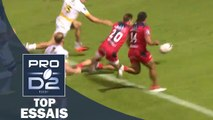 TOP Essais de la J5 – PRO D2 – Saison 2016-2017