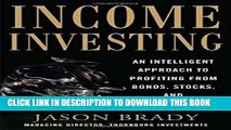 [PDF] Income Investing with Bonds, Stocks and Money Markets Full Collection